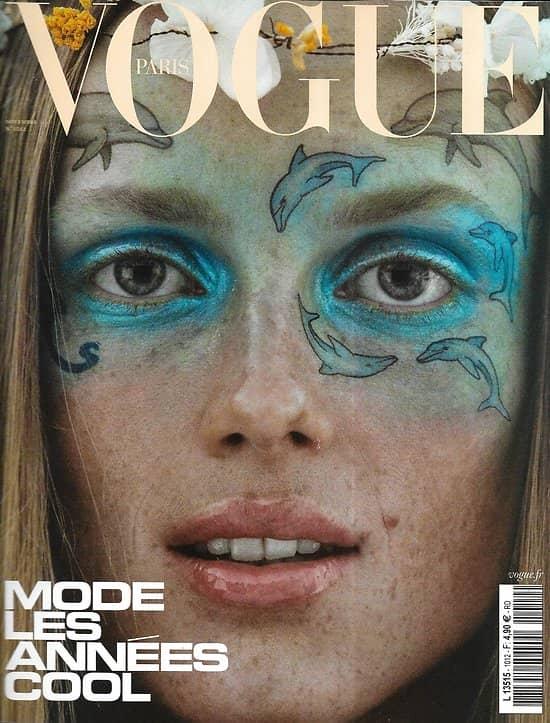 VOGUE n°1012 novembre 2020  Mode: les années cool/ Rianne Van Rompaey/ Valérie Lemercier/ Edita Vilkeviciute/ Patti Smith/ Maïwenn
