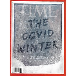 TIME VOL.196 20&21 30/11/2020  The Covid Winter- Vaccines are coming/ The 100 best inventions of 2020/ The 100 must-read books of 2020