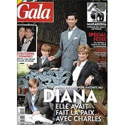 GALA n°1434 03/12/2020  Diana: la paix avec Charles/ Christophe Dominici/ Maradona/ Gil Alma/ BFMTV/ Spécial fêtes