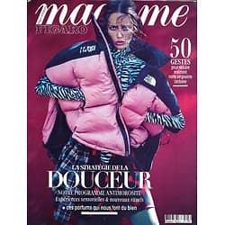 MADAME FIGARO n°23726 (n°1892) 27/11/2020  La stratégie de la Douceur/ Marion Cotillard/ Réduire son empreinte carbone