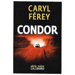 """Condor"" Caryl Férey/ Excellent état/ Livre grand format"