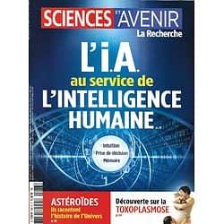 SCIENCES ET AVENIR n°886 décembre 2020  L'IA au service de l'intelligence humaine/ Astéroïdes/ Toxoplasmose/ Evolution/ Néonicotinoïdes/ Mucoviscidose