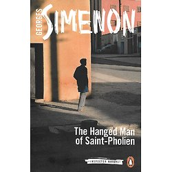 """The Hanged Man of Saint-Pholien"" Georges Simenon/ Excellent état/ Livre poche"