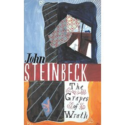 """The Grapes of Wrath"" John Steinbeck/ Excellent état/ Livre poche"
