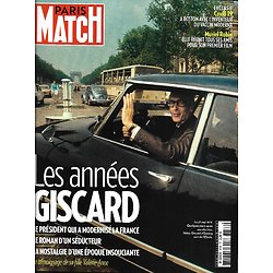PARIS MATCH n°3736 10/12/2020  Les années Giscard/ Vaccin Moderna/ Momies de Saqqarah/ Nicola Sirkis & Christine/ Muriel Robin