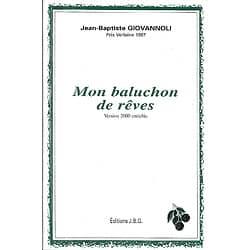 """Mon baluchon de rêves"" Jean-Baptiste Giovannoli/ 2000/ Livre broché"