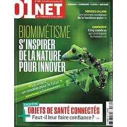 01 NET MAGAZINE n°939 21/10/2020  Biomimétisme: s'inspirer de la nature pour innover/ Objets de santé connectés