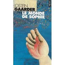 """""""Le Monde de Sophie"""" Jostein Gaarder/ Très bon état/ Livre poche"""