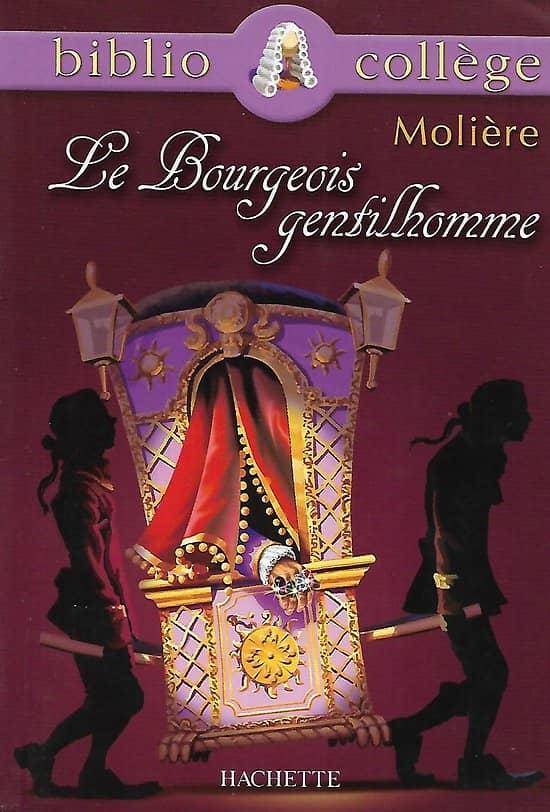 """""""Le Bourgeois Gentilhomme"""" Molière/ Bon état d'usage/ Livre poche"""