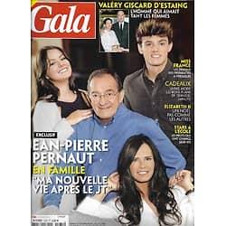 GALA n°1435 10/12/2020  Jean-Pierre Pernaut/ Valéry Giscard d'Estaing/ Miss France/ Patrick Cohen/ Patti Smith & Sam Shepard