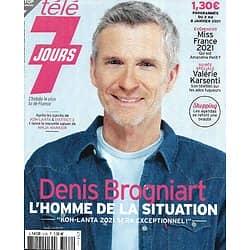TELE 7 JOURS n°3162 02/01/2021  Denis Brogniart/ Miss France/ Valérie Karsenti/ Marie-Sophie Lacarrau/ Keira Knightley