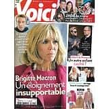VOICI n°1725 24/12/2020  Brigitte Macron/ Rétro 2020/ Albert de Monaco/ Miss France 2021/ Britney Spears/ Norman
