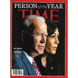 TIME VOL.196 23 & 24 December 21st 2020  Person of the year: Joe Biden & Kamala Harris / LeBron James / Dr. Fauci / Racial justice organizers / BTS / Frontline health workers