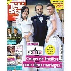 "TELE STAR n°2309 02/01/2021  ""Plus belle la vie""/ Miss France/ Philippe Etchebest/ Marie-Sophie Lacarrau & Julian Bugier/ Kim Basinger"