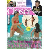 CLOSER n°811 24/12/2020  Alessandra Sublet/ Emmanuel Macron/ Tom Cruise/ Miss France/ Harry & William/ Carnet rose 2020