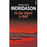 """""""Ce que savait la nuit"""" Arnaldur Indridason/ Très bon état/ Livre poche"""