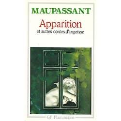 """""""Apparition et autres contes d'angoisse"""" Maupassant/ GF-Flammarion/ Très bon état/ 1987/ Livre poche"""