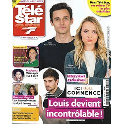 "TELE STAR n°2311 16/01/2021 ""Ici tout commence""/ Alessandra Sublet/ Madonna/ Harry & Meghan/ Jackie Chan/ Patrick Bruel"