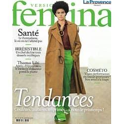 VERSION FEMINA n°982 25/01/2021  Mode tendances du printemps/ Thomas Lilti/ Cures thermales/ Les délices du chef Moulaye