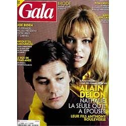 GALA n°1442 28/01/2021  Alain & Nathalie Delon/ Joe Biden/ Nathalie Wood & Robert Wagner/ Tom Cruise/ Nicoletta