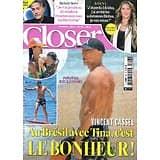 CLOSER n°817 05/02/2021  Vincent Cassel & Tina Kunakey/ Loana/ Richard Berry/ Kim Kardashian/ Bénabar