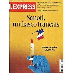 L'EXPRESS n°3631 04/02/2021  Sanofi, un fiasco français/ Guillaume Musso/ Ivanka Trump/ Air France/ La cancel culture
