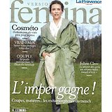 VERSION FEMINA n°985 15/02/2021  L'imper gagne!/ Julien Clerc/ Probiotiques/ Couple & éducation/ Remédiation cognitive