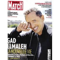 PARIS MATCH n°3744 04/02/2021 Gad Elmaleh, nouvelle vie/ Variant anglais: enfer au Portugal/ Ateliers secrets de la haute couture/ Vendée Globe: Jean Le Cam/ Zendaya star