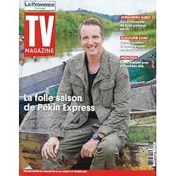 """TV MAGAZINE 21/02/2021 n°1777  La folle saison de """"Pékin Express"""" Stéphane Rotenberg/ Guillaume Canet/ Alessandra Sublet/ """"Antidote"""" Michel Cymes"""