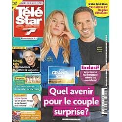 "TELE STAR n°2316 20/02/2021  ""Un si grand soleil""/ Richard Berry/ Michel Cymes/ Julien Clerc/ Fabrice Luchini/ Vincent Fernandel"