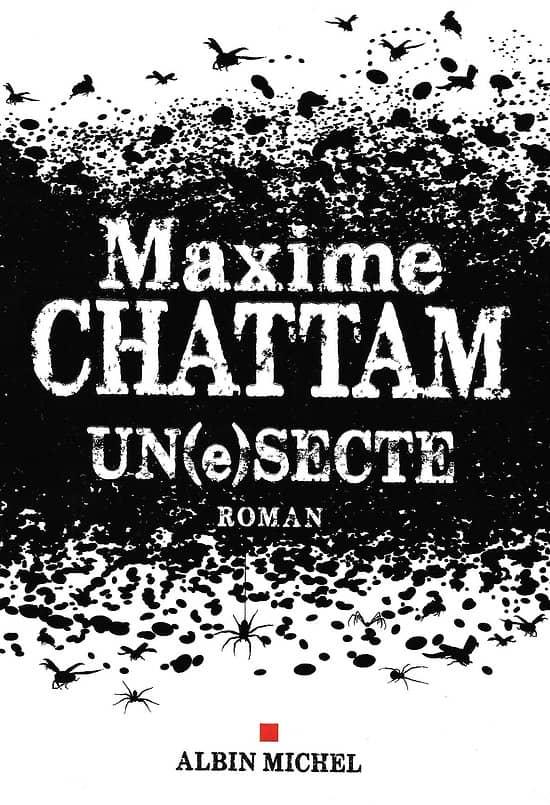 """""""Un(e) secte"""" Maxime Chattam/ Très bon état/ Livre grand format"""