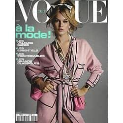 VOGUE n°1014 février 2021  A la mode! La légende des classiques; les indémodables/ Anna Ewers/ Ebony/ Virginie Viard/ Marie Ndiaye