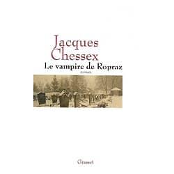 """""""Le vampire de Ropraz"""" Jacques Chessex/ Très bon état/ Petit livre broché avec jaquette"""