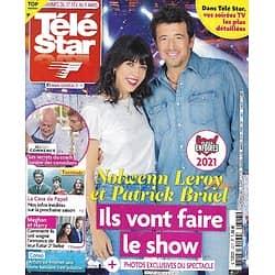 """TELE STAR n°2317 27/02/2021  Patrick Bruel & Nolwenn Leroy """"Les Enfoirés""""/ Eva Green/ Stéphane Bern/ Pablo Casals/ Meghan & Harry/ """"La Casa de Papel"""""""