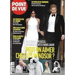 POINT DE VUE n°3782 10/02/2021  Peut-on aimer chez les Windsor?/ Les conseillers de l'ombre/ Chantal Thomas/ Hugo Marchand