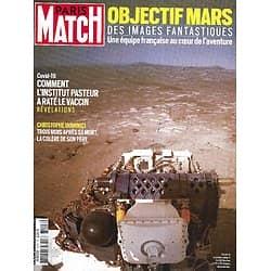 PARIS MATCH n°3747 25/02/2021  Objectif Mars/ Vaccin Pasteur, le fiasco/ L'OMS à Wuhan/ Dominici, père en colère/ Alain-Fabien Delon