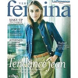 VERSION FEMINA n°988 08/03/2021  Tendance jean/ Raphaël de retour/ Choisir sa mort/ Probiotiques/ Athènes en effervescence