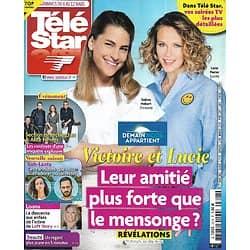 """TELE STAR n°2318 06/03/2021  """"Demain nous appartient"""" Solène Hébert & Lorie/ """"Koh-Lanta: les armes secrètes""""/ Kristen Stewart/ """"Alice Nevers""""/ Marc Levy"""