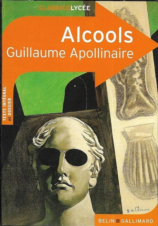 """""""Alcools"""" Guillaume Apollinaire/ bon état/ Livre poche"""