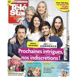 """TELE STAR n°2319 13/03/2021 """"Ici tout commence"""" 100è épisode/ Yves Rénier/ Anthony Delon/ Mandy Moore/ Brigitte Foosey/ Linda Hardy"""