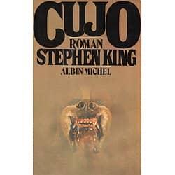 """Cujo"" Stephen King/ 1986/ Bon état d'usage/ Livre grand format"