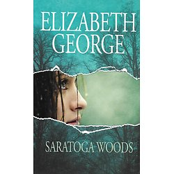 """Saratoga Woods (The edge of nowhere 1)"" Elizabeth George/ Très bon état/ Livre grand format"