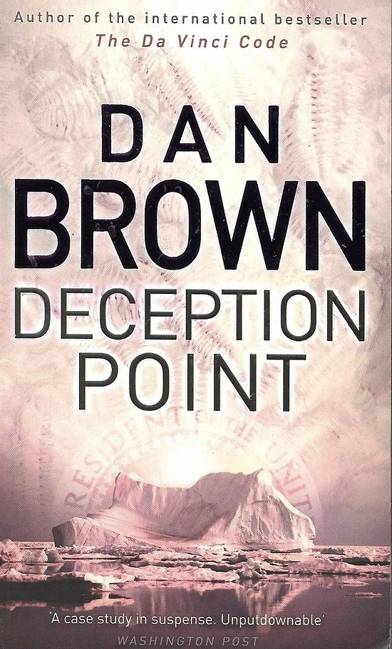 """""""Deception Point"""" Dan Brown/ Bon état/ Livre poche"""