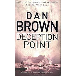 """Deception Point"" Dan Brown/ Bon état/ Livre poche"