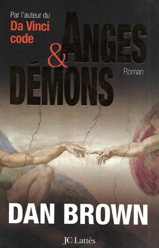 """""""Anges et Démons"""" Dan Brown/ Très bon état/ Livre grand format"""