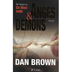"""Anges et Démons"" (Angels and Demons) Dan Brown"