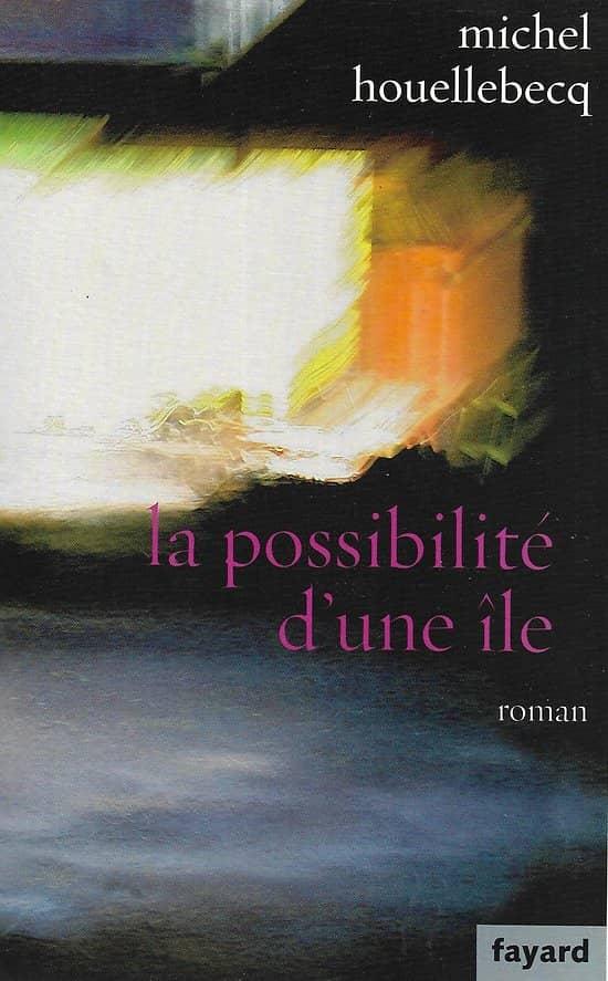 """""""La possibilité d'une île"""" Michel Houellbecq/ Comme neuf/ Livre grand format"""