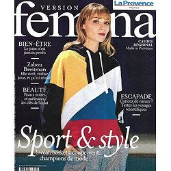 VERSION FEMINA n°991 29/03/2021 Sport & style/ Zabou Breitman/ Les voyages scientifiques/ Soins pr peaux noires