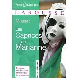 """""""Les caprices de Marianne"""" Alfred de Musset/ Classiques Larousse/ Livre poche"""