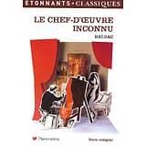 """""""Le chef-d'oeuvre inconnu"""" Balzac/ Etonnants Classiques Flammarion/ Très bon état/ Livre poche"""